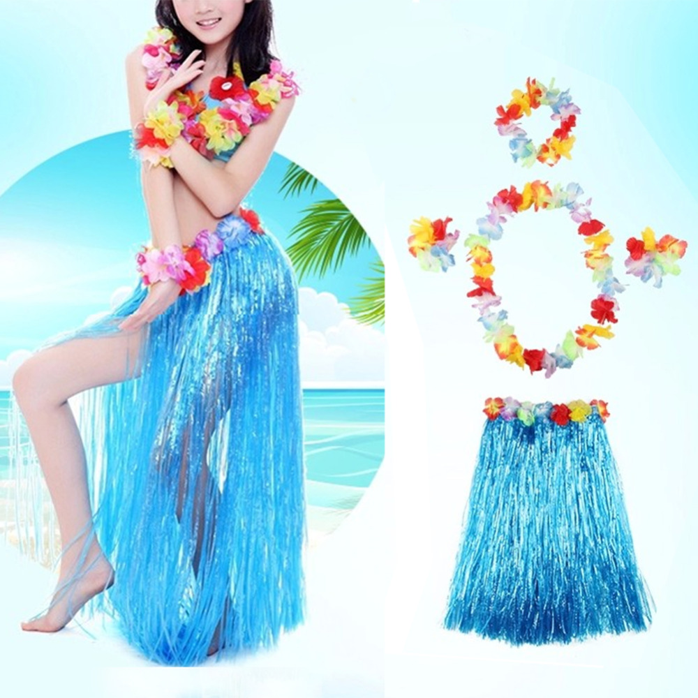 40CM Hawaiian Party Decorations Supplies Children Adult Hula Show ...