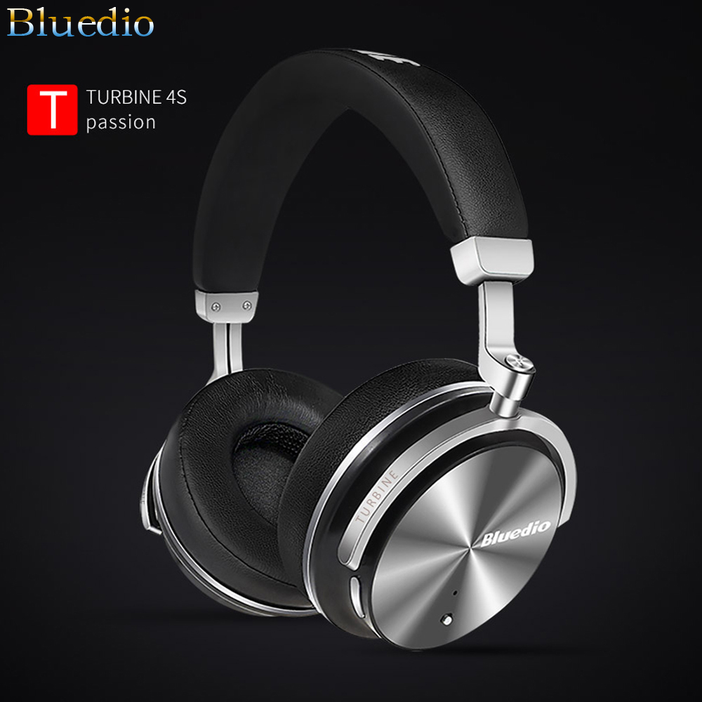 T4S Wireless Headset ANC Active Noise Cancelling Bluetooth Headphones Bass Stereo Music koptelefoon mic Phone Call
