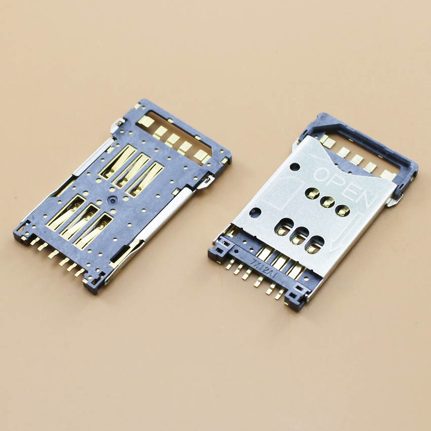 YuXi Brand New memory card socket holder slot for Nokia N82 8800A 8830E 8820E N900 3120C 3250 tray reader module replacement.