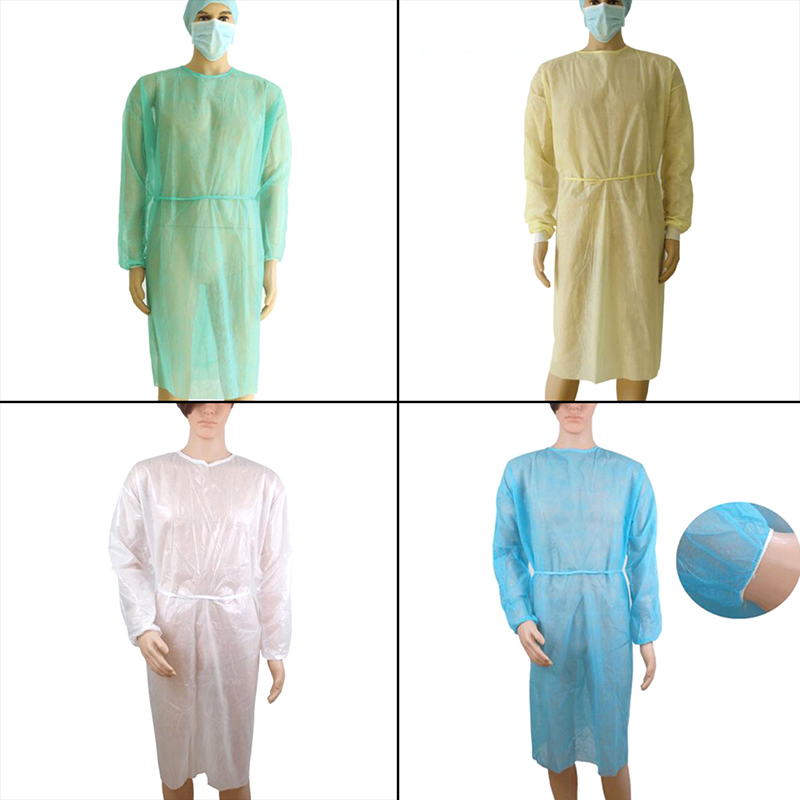 1PCS Surgical Clothes Disposable Medical Clean Laboratory Isolation Cover Gown For Microblading