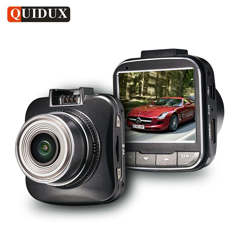 QUIDUX Car DVR Full HD 1080P Night Vision Auto Camera Novatek 96650 Chip 30fps Dash Cam G-sensor WDR Car Video Recorder