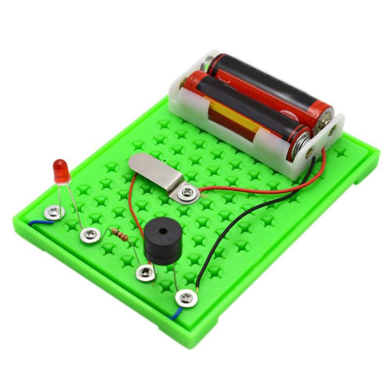 Children Electric Radio Transceiver Assembly Kids DIY Science Experiment Assembly Toys Child Model Building Kits Intelligence