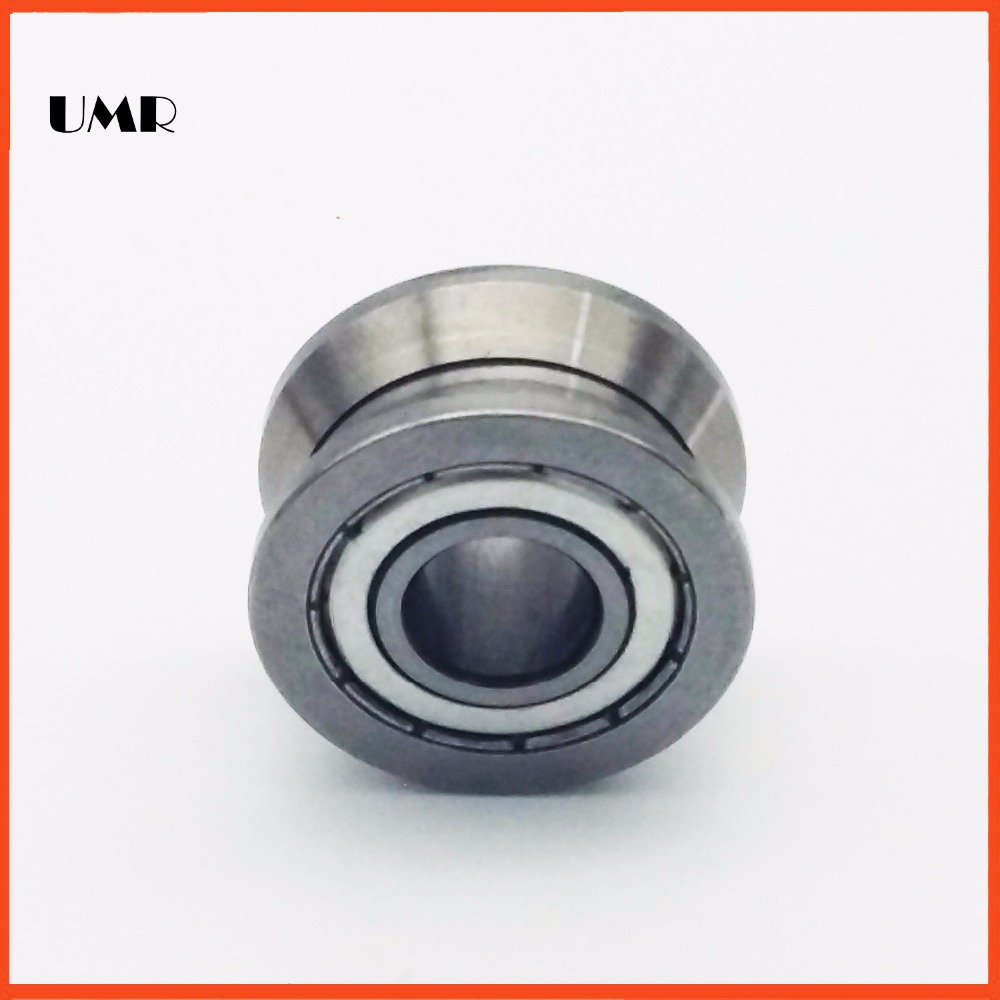 LV202-38ZZ V Groove Guide roller bearings LV202-38 ZZ V-38 RV202/15.38-10 15*38*17 (Precision double row balls) ABEC-5 50mm bearings nn3010k p5 3182110 50mmx80mmx23mm abec 5 double row cylindrical roller bearings high precision