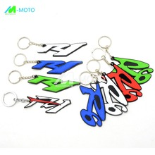 new arrival Motorcycle accessories keychain key ring motorbike key chain Racing Parts for motocross for yamaha R1 R6