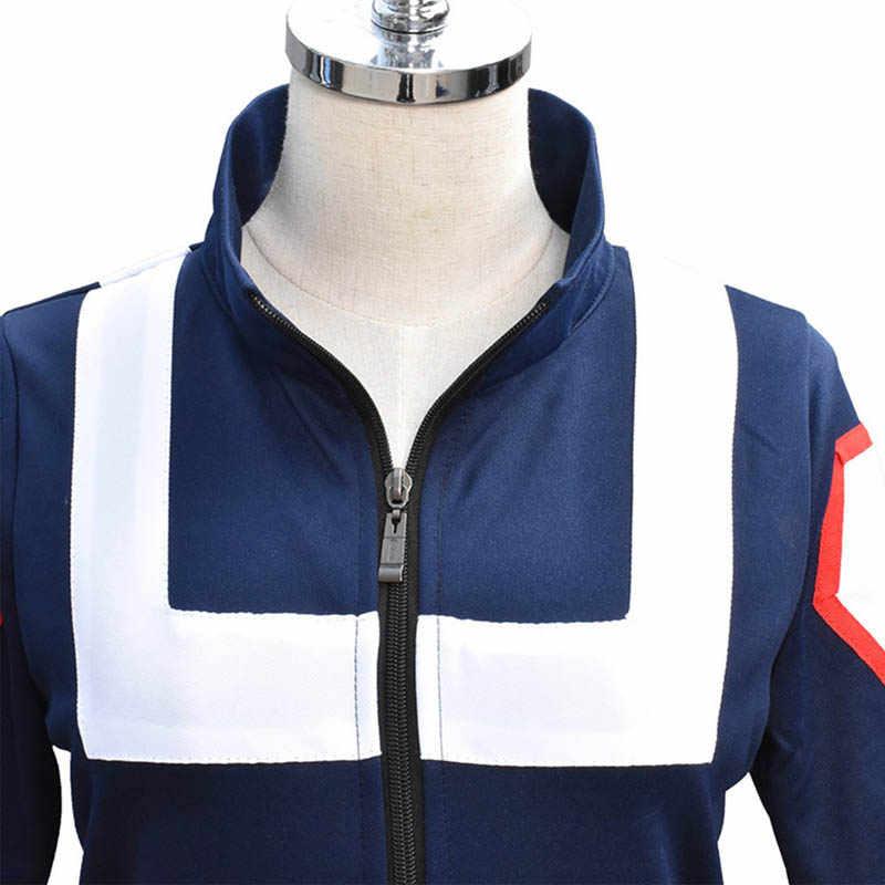 Cosroad boku nenhum herói academia cosplay ginásio terno todoroki shoto bakugou katsuki uniforme de escola masculina trajes femininos