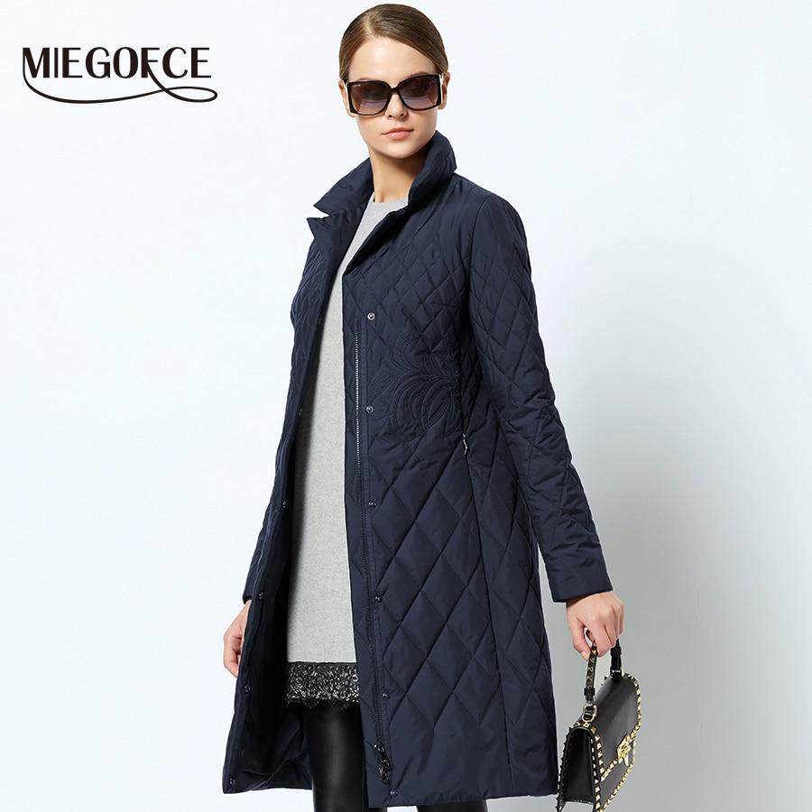 Frauen Jacke Winter 2019 Neue Medium-lange Baumwolle Parka Plus Größe Mantel Dünne Damen Casual Kleidung Heißer Verkauf Haus & Garten