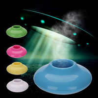 Mini USB Donut Humidifier Air Purifier Aroma Diffuser Home Office Car Portable Mist Humidifier Sound-off Portable Aromatherapy