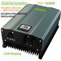1200W inverter PV-Voc input 85-130v  High frequency isolation solar inverter  AC230V 50HZ or 60Hz Home solar  systems