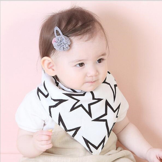 Baberos de bebé Azeoshe talla grande niño niña algodón Burp paños moda Animal estampado bebé doble uso baberos Bandana