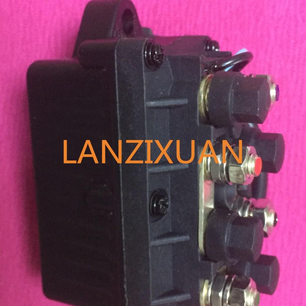 Boot motor power trim & relais in box 63p 81950 00 00 (2pin) für 4 ...