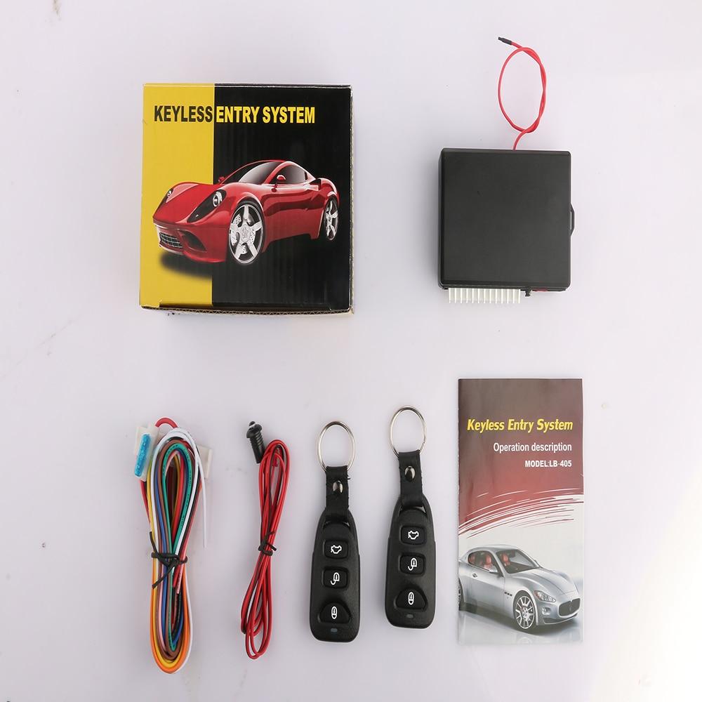 Keyless Entry System Alarm Auto Start Car Systems Car Central locking&Car Remote Central Kit Vehicle Door Lock Locking(China (Mainland))