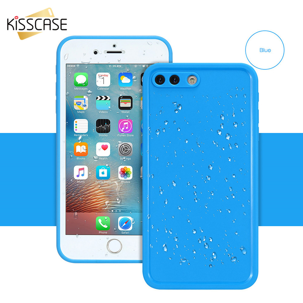 iphone 6 plus waterproof kisscase for iphone 6s plus clear waterproof for 15051