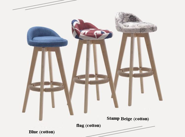 European popular chair garden exhibition information desk stool free shipping