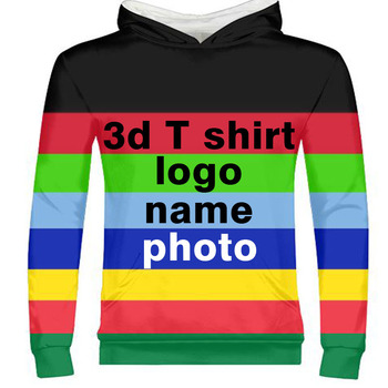 male free custom made name number logo text photo unisex 3D zipper sweatshirt flags college university whole body print clothes
