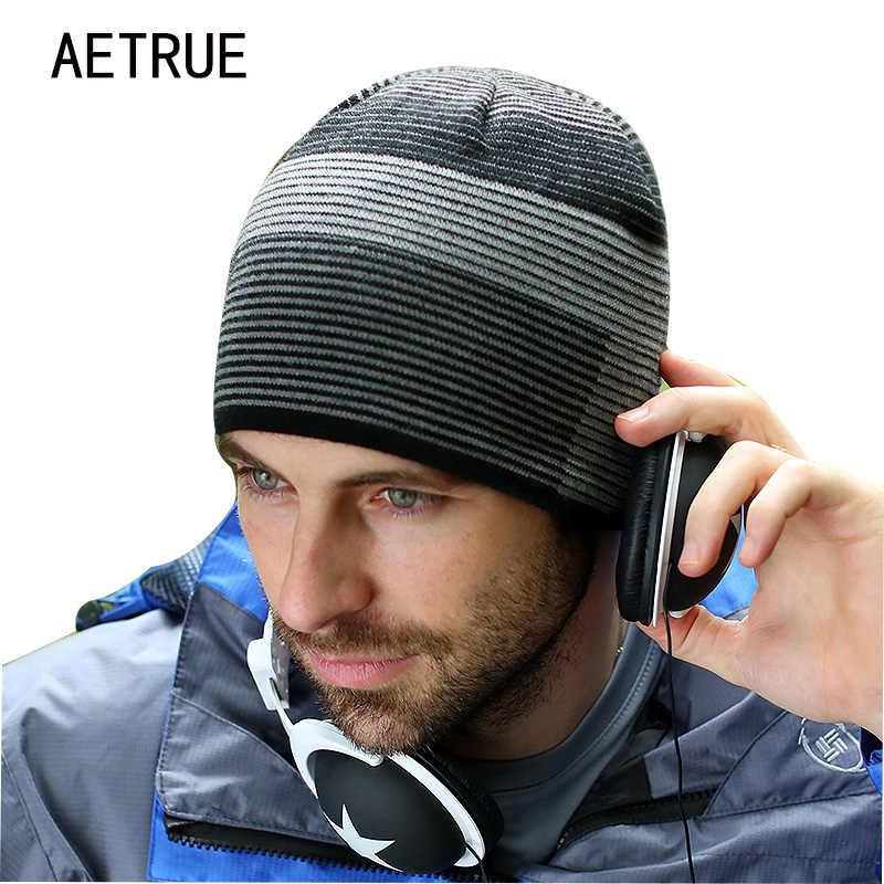 db0e78ecd33 2018 Brand Fashion Beanies Men s Hat Winter Hats For Men Women Caps  Skullies Knit Winter Hat