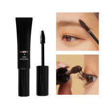 Top kwaliteit merk Make 3D Multi-functionele Mascara Waterproof Fiber Lange Zwart Bruin Wimpers Curling Mascara Wenkbrauw crème(China)