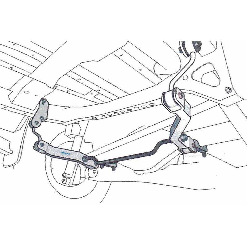 H-TUNE 4x4 Accesorios Anti-Sway Bar Rear Stabilizer Sport Kit Space Arm For  Triton L200 MQ 2015+