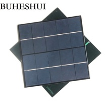 4.5W 5V Solar Cell Polycrystalline Solar Panel Module DIY Solar Charger System For 3.7v Battery Education kits 15pcs Wholesale