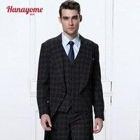Hanayome Men S 3 Pieces New Fashion Wedding Event Blazer Tuxedo Vest Trousers D328