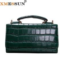 Bolso de mano de piel de vaca para mujer, Pochette con patrón de cocodrilo verde, bolso de hombro tipo bandolera, bolso de mano, billetera de fiesta
