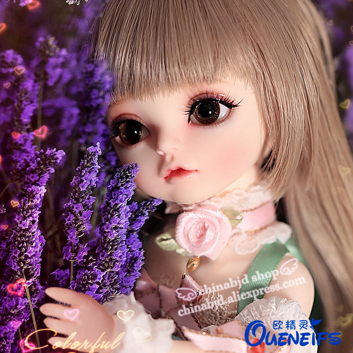 OUENEIFS free shipping Iris 1/6 bjd sd doll model reborn children doll High Quality toys shop resin birthday gift luodoll 1 pcs doll camera for bjd doll diy 1 4 1 3 dod as dz sd doll accessory key chains toys sound gift free shipping