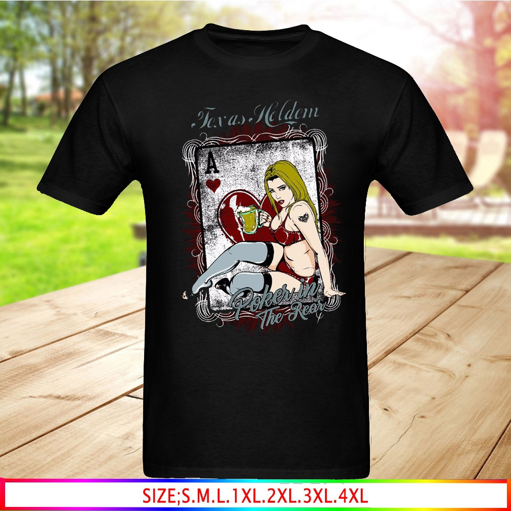 Los Hombres Del Estilo Del Verano De La Camiseta Chica Pinup Las