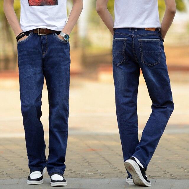 Мужская классические джинсы для мужчин байкер мужские брюки moto мешковатые джинсовые страх божий homme проблемных калько masculina hombre вакеро панк