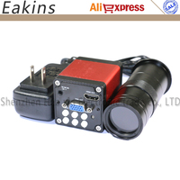 13MP 1/3 CMOS Industry microscope Camera HDMI VGA outputs 60F/S 720P +100X C Mount Lens for cellphone Tablet Repair