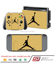 OSTSTICKER Custom Vinyl Protective Decal Cover Skin Sticker For Ninetendo Switch Console Controllers Sticker Video Games
