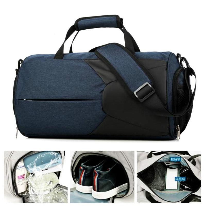 Duffel Bag Travel Sports Bag Training Sac De Sport Bags For Gym Men Lighweight Fitness Dry Bag Man Outdoor Luggage Tote Handbag