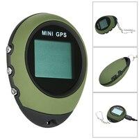 Mini GPS Tracker Tracking Device Travel Portable USB Recharge Keychain Locator Motorcycle Vehicle Sport Handheld Key Chain GPS