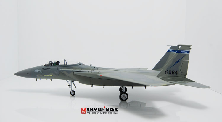 005-022 F-15A Witty Eagle Air National Guard Air Force 125th 1:72 Finished Model