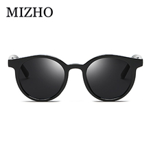 MIZHO Brand Design Stainless Steel G15 Green Lens Sunglasses Men Polarized PILOTT With Case