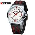 Hombres reloj de cuarzo curren reloj de los hombres reloj de pulsera relogio masculino 8153 reloj de cuarzo ocasional