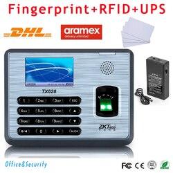 Dhl tx628 fingerprint id card biometric time attendance recorder with ups for power failure tcp ip.jpg 250x250