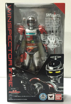"Kamen ""Tokkei Winspector""   Toy Action Figure – Fire"