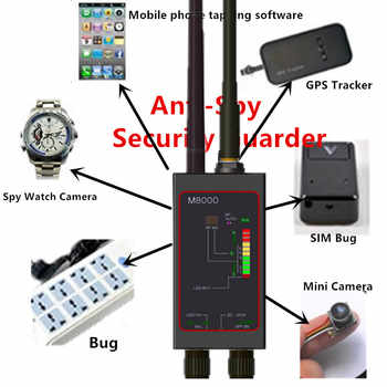 Wireless Micro Signal Detector Anti photographed Anti eavesdropping RF Tracker GPS Finder - DISCOUNT ITEM  34% OFF All Category