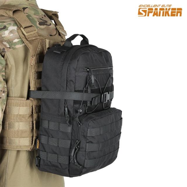 Excelente ELITE azotador militar al aire libre mochila táctica adjunta Molle impermeable del Ejército para la selva caza mochila de Nylon