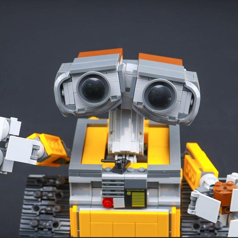 Top technique idée Robot mur E ensemble de construction Kits jouets briques éducatives blocs jouets pour enfants bricolage cadeau - 3