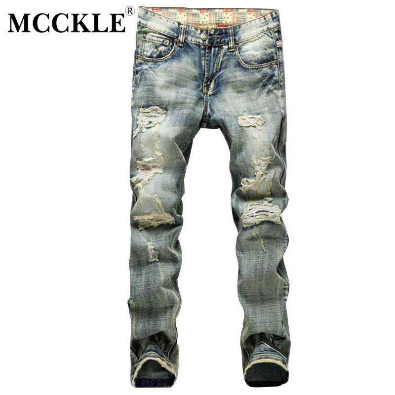 News Fashion Mens Ripped Jeans Pants Slim Fit Distressed Denim Joggers Male Brand Designer Destroyed Jean Trousers brand designer mens embroidered jeans pants fashion painted denim joggers for male slim fit straight jean trousers ink splash
