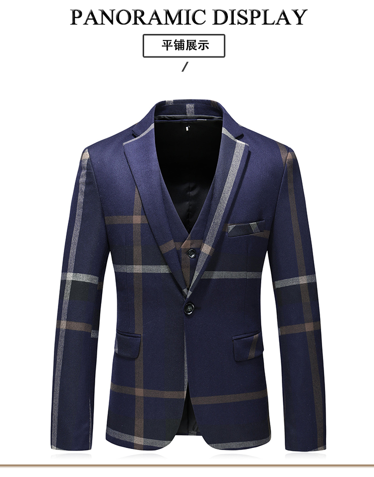 Vest stripe business Last 8