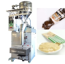 Low cost 20g mayonnaise paste tomato sauce packing honey sachet packaging machine