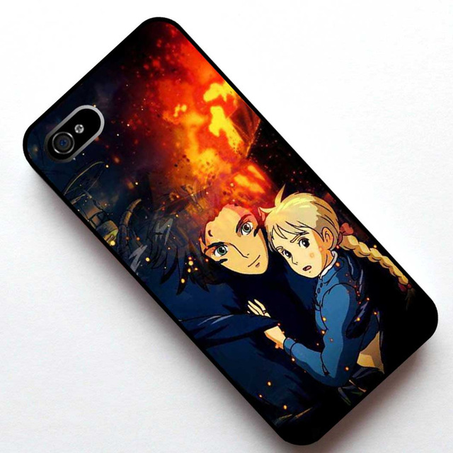 Howls Moving Castle Phone case for Huawei 3C Honor 6 7 Ascend P6 P7 P8 Lite P9 Lite P9 Plus Mate 7 8