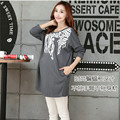 New Spring&Autumn Maternity Clothes Pregnant Women T-shirt Floral Print Bat Sleeve Loose Style Tops Pregnancy Clothing T916
