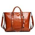 Mulheres da moda Couro Bolsa Tote bag Lady bolsa de ombro bolsa Saco Do Mensageiro Ocasional frete grátis
