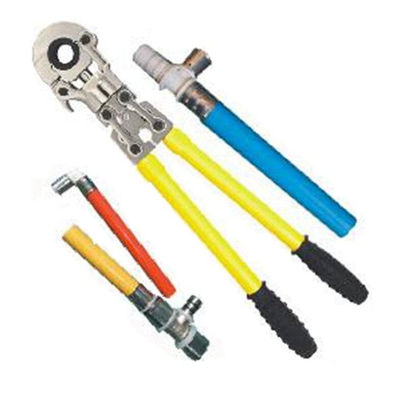 32mm main pex plomberie tuyau de sertissage outil mécanique tube clé en acier inoxydable tuyau presse pinces pinces couleur liberté livraison