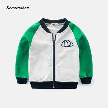 f5dddddd0 Benemaker 2018 otoño chaquetas para una niña niño niños deportes al aire  libre abrigos de Bebé Ropa de niños prendas de vestir exteriores chaqueta  JH127