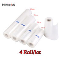 Nineplus Vacuum Packaging Rolls Vacuum Plastic Bag Storage Bags Home Vacuum Sealer Food Saver 12 15