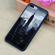 New York Urban construction Style Printed Soft Rubber Phone Cases For iPhone 6 6S Plus 7 7 Plus 5 5S 5C SE 4 4S Back Cover Shell