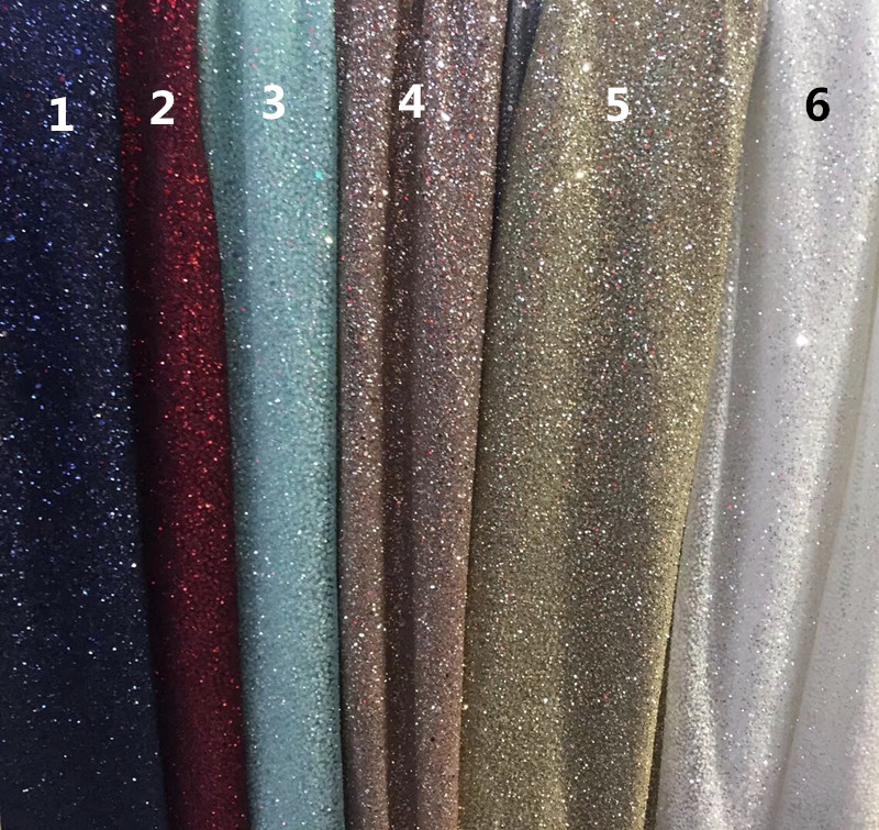 fashion french net lace with glued glitter JIANXI C 6601 top selling embroidery african tulle mesh